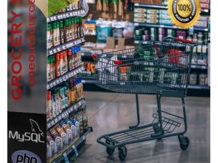 Grocery Shop is a turn-key ready made shopping car