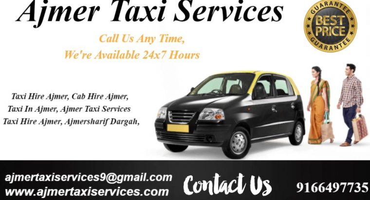 Luxary cabs and coaches in Ajmer , Taxi hire for o