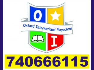Oxford RT Nagar school | 3 Months Short Term Teach