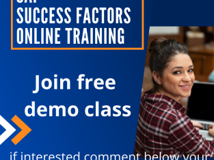 SAP SUCCESS FACTOR ONLINE TRAINNING