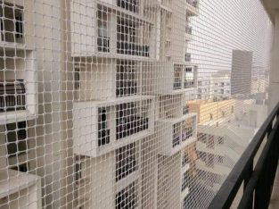 BALCONY SAFETY NETS PIGEON NETS BIRD NET BANGALORE