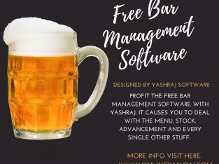 Get Free Bar Management Software in India