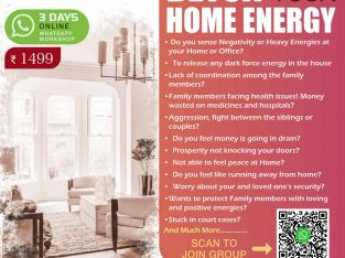 Detox Home Energy & Protection Workshop