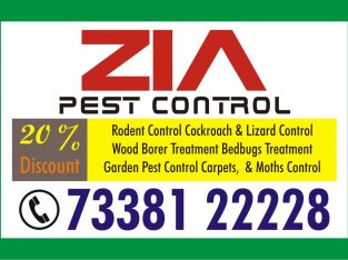 Zia Pest Control Service 0820 | 25% Discount on T