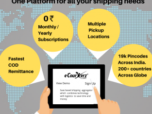 Saas based eCommerce shipping aggregator   eCourie