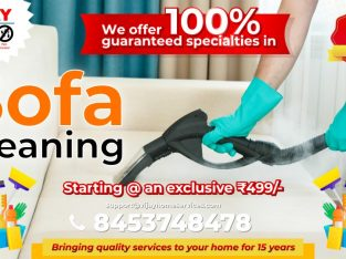 Sofa Cleaning Service by vija Home Service