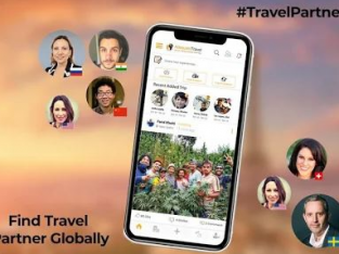 Adequate travel App Finding travel mate online