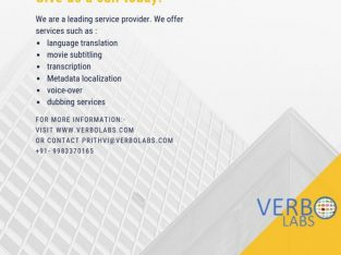 Language Translation Service Provider Company