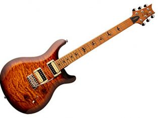 PRS SE Custom 24 Electric Guitar in Tobacco Sunbur