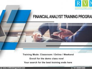 Don't Miss Out 40% Off On Financial Analyst Traini