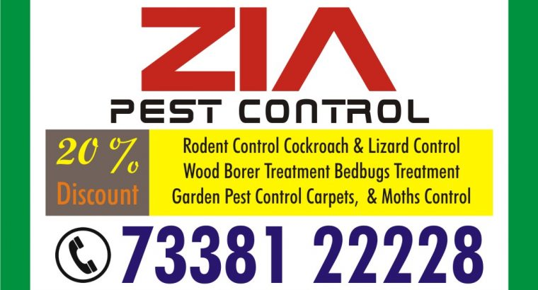Zia Pest Control | 100% effective and safe | 1707