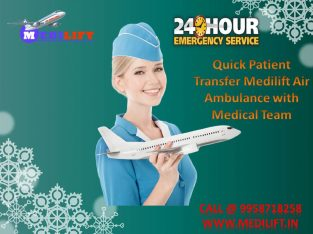Life-Support Air Ambulance Service in Patna