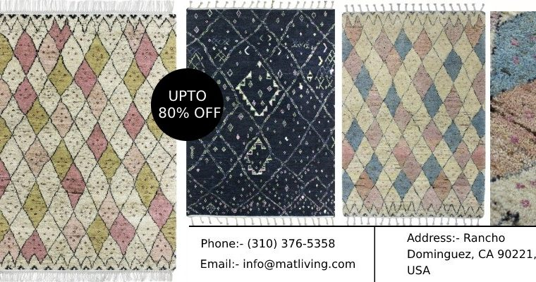 Shop Finest Quality Moroccan Rugs, Area Rugs
