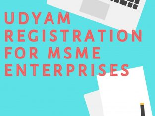 Service for udyam registration online in India