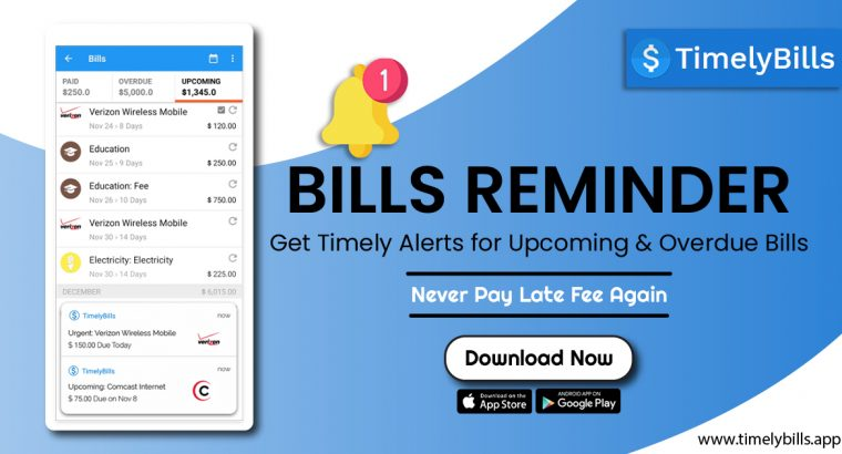 Best App to Manage Your Money – Timelybills.app