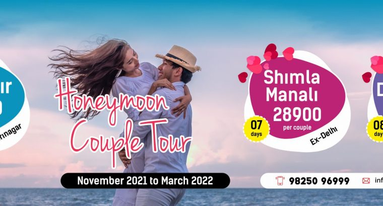 Book Himachal Couple Tour Packages with Ajay Modi