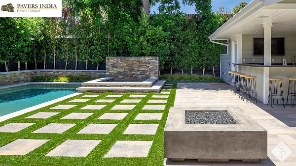 Give a Soothing Green Touch to Your Driveway with