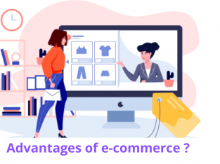 What are the features and advantages of eCommerce