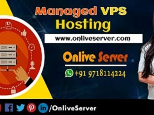 Powerful Managed VPS Hosting Plans with Onlive Ser