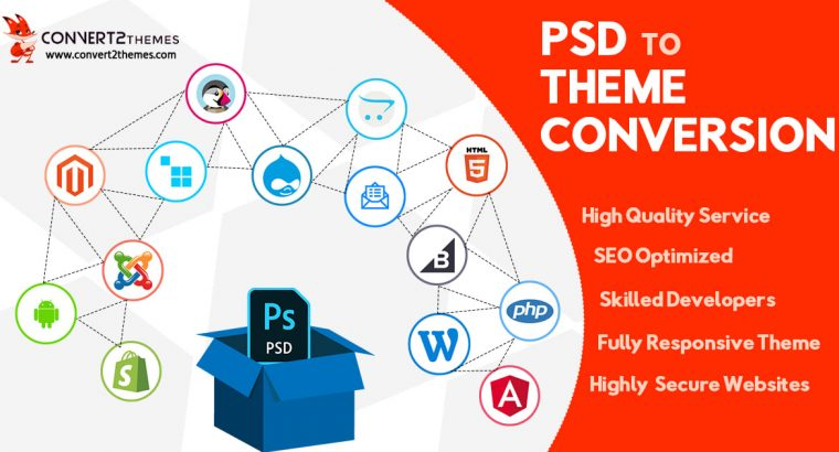 PSD to Theme Conversion Services